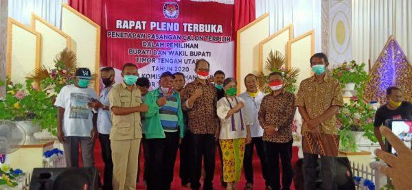 Sekretaris Koalisi Paket Sejahtera, Partai Pendukung Bersama Bapa David Djuandi & Bapa Eusabius Binsasi ( Bupati dan Wakil Bupati Terpilih Kab. TTU)