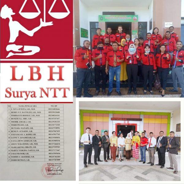 Pose Bersama Advokat LBH Surya NTT